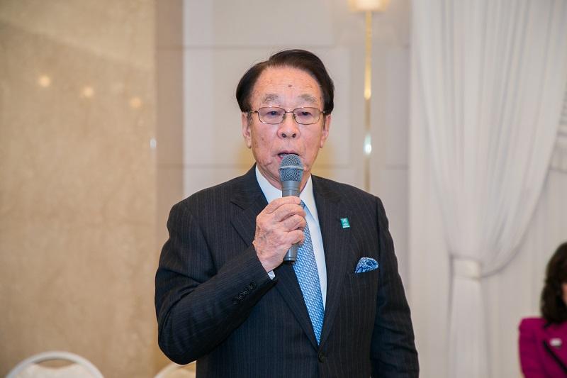 自民党トラック輸送振興議員連盟(細田博之会長)総会の様子