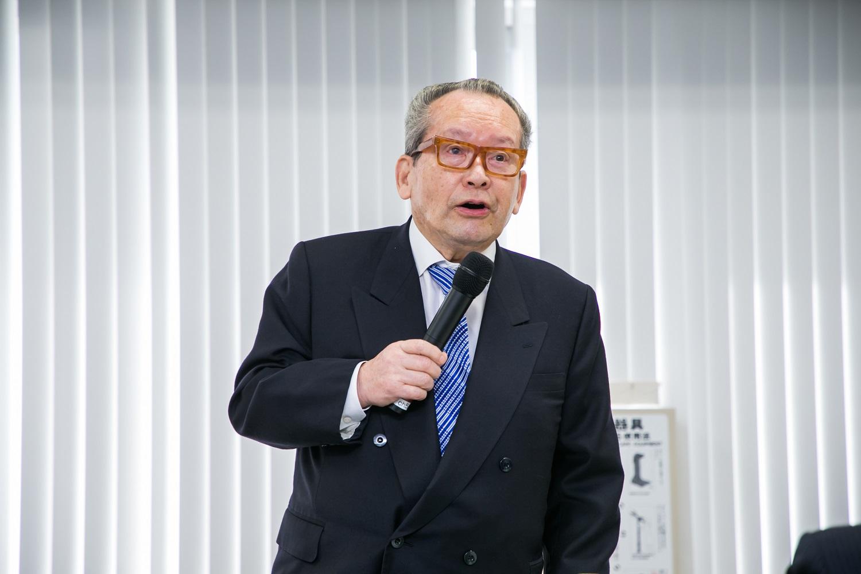自民党トラック輸送振興議員連盟(細田博之会長)総会